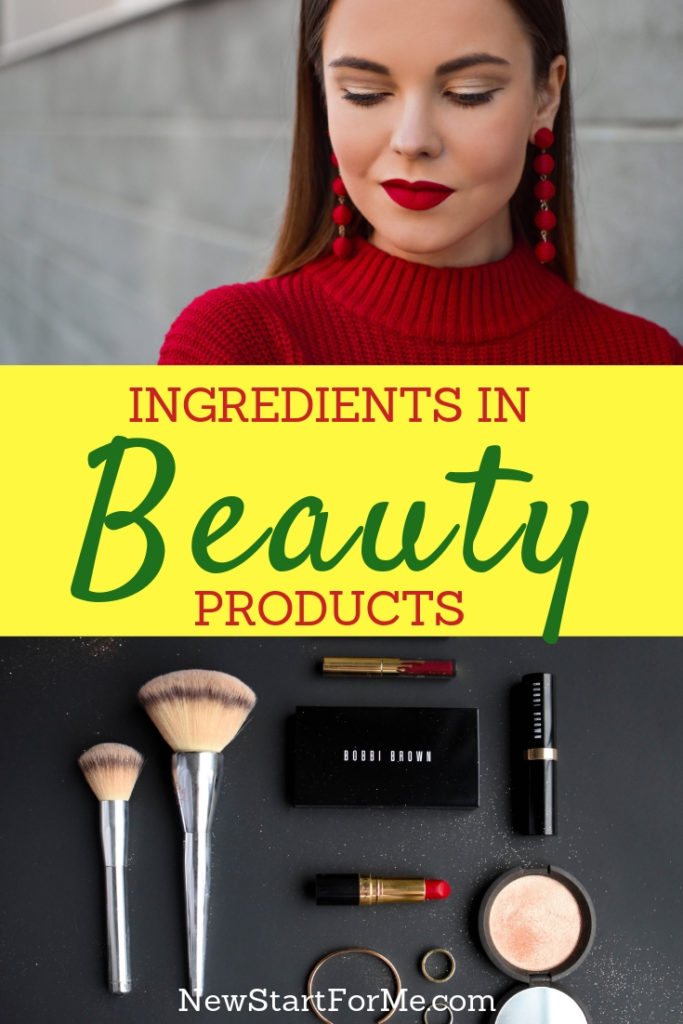 Beauty isn't just skin deep! Be aware of hidden harmful ingredients in beauty products that may be harmful to your health, inside and out!