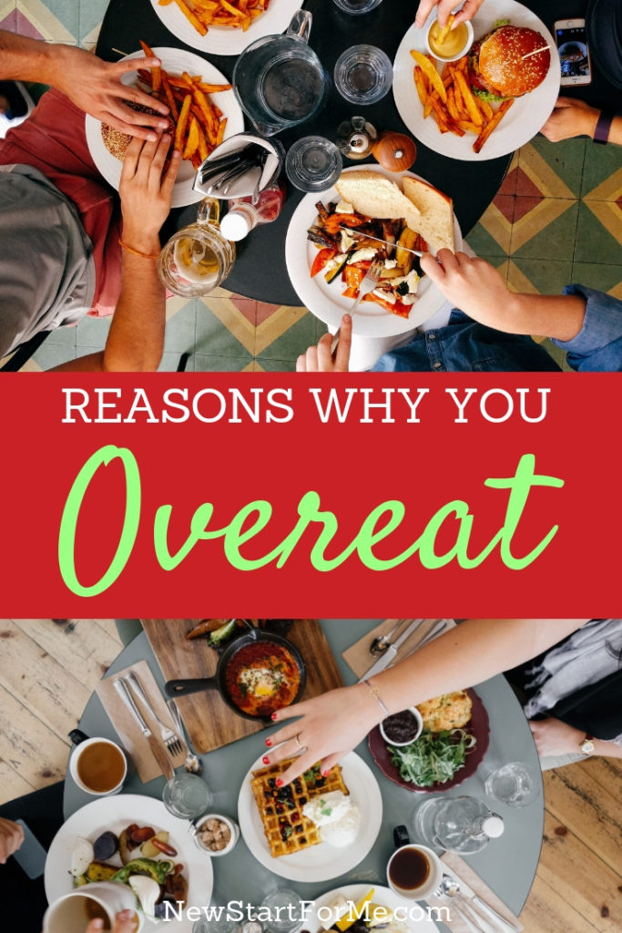 The real reasons why you overeat may surprise you but the good news is many of them are relatively easy to fix!