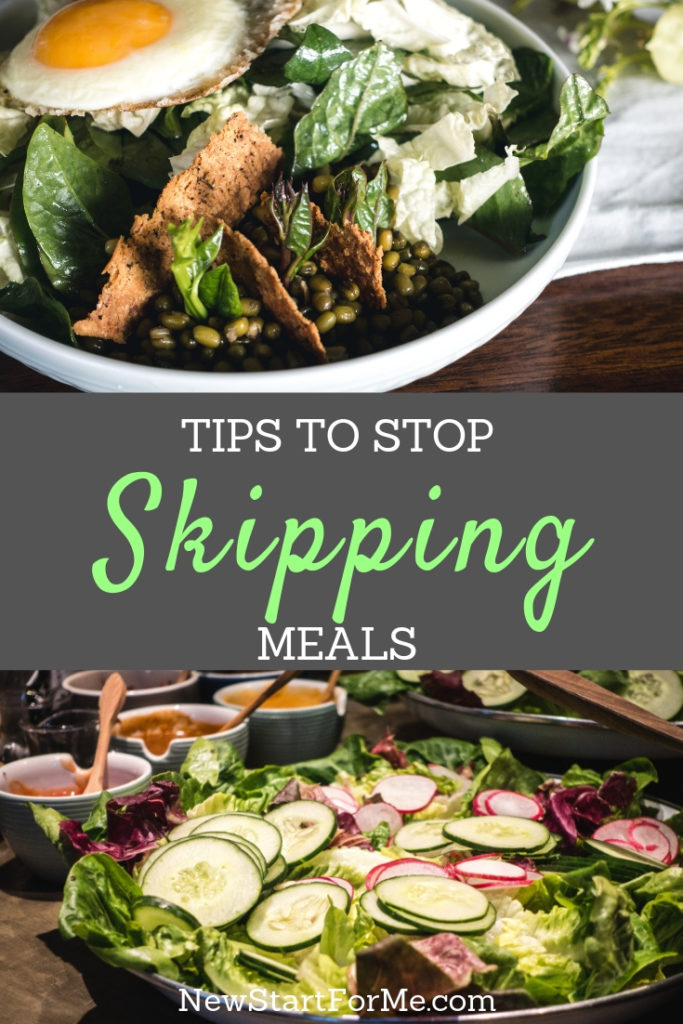 Too rushed to eat breakfast, or too tired to make dinner? No worries! We've got 11 great tips to help you stop skipping meals forever!